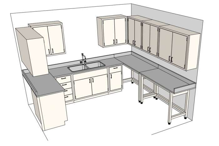 Lab Design - SketchUp