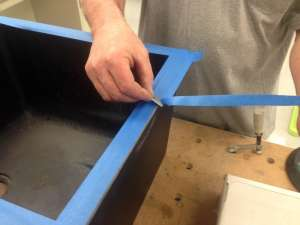 Epoxy Resin Drop-In Sink Installation